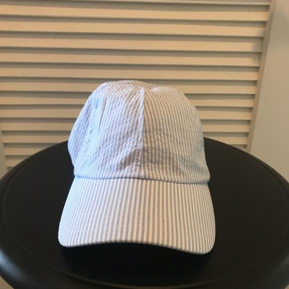b621592f mudpie Accessories | Seersucker Bow Baseball Cap Brand New | Poshmark